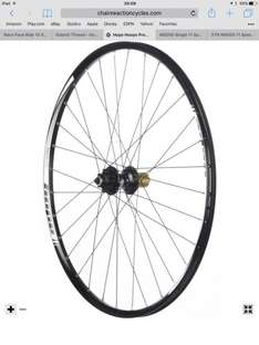 "Hope pro evo 2 rear wheel 650b 27.5"" mtb mountain bike wheel only £125.99 (sram xd freehub only) @ chain reaction crc"