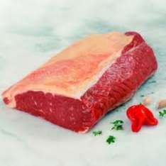 Tesco Meat Counter Beef Sirloin Joint price per kg =