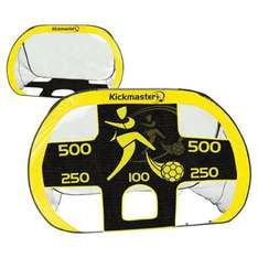Kickmaster 2-in-1 Quick-Up Football Goal & Target Shot - Tesco - £10 Collect or +£3 Posted