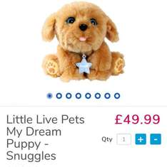 Little Live Pets In Stock At Toys R Us NOW!!! for £49.99