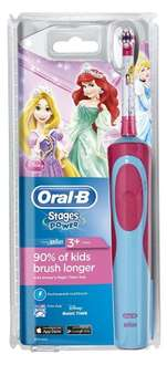 Oral B stages children's electric toothbrush - £17.49 (Prime) £21.48 (Non Prime) @ Amazon