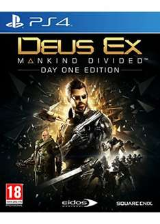 [PS4] Deus Ex: Mankind Divided - Day One Edition - £17.69 - Base