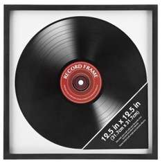 Record frame  (12.5inchx 12.5inch) at Poundland for £1