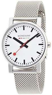 Mondaine Unisex Evo Quartz Stainless Steel Bracelet Strap Watch, £77.53 was £169.00 @ Amazon