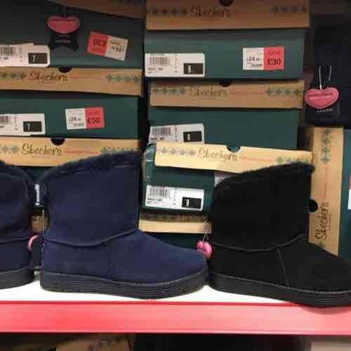 Skechers Adorbs memory foam boots.£30 instore @ JTF
