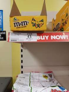 spooky m&ms 165g 2 for  £1 @ heron foods