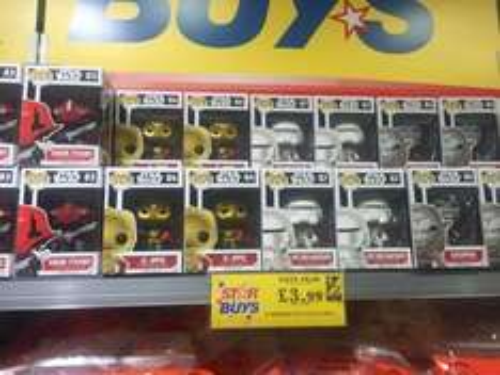 Star wars funko pop - £3.99 instore @ Home Bargains