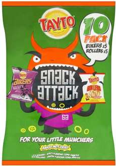 Tayto Snack Attack 10 x 13g Pack ONLY £1.00 @ Iceland