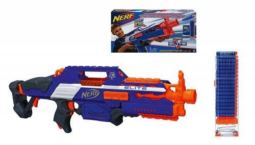 NERF N-Strike Elite Rapidstrike CS-18 Blaster for £18.99 delivered from Amazon