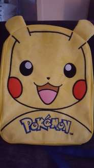 pikachu pokemon backpack primark £7 instore