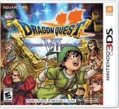 Dragon Quest VII: Fragments of the Fogotten Past £24.99 for the 3ds @ Smyths free P+P