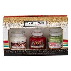 Yankee Candle Jar Holiday Party Gift - Small, Set of 3 - £14.20 @ Amazon (Sold by Yankee Candle Direct)