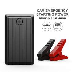 Beatit 400A 10000mAh Portable Car Jump starter Booster Battery Charger Vehicle Emergency Kit, Built-in LED Flashlight £26.39 Sold by H&T tech and Fulfilled by Amazon