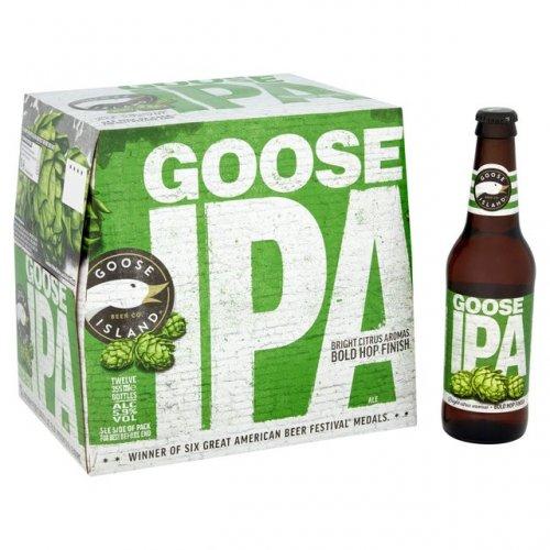 Goose Island IPA 24 bottles 355ml - £28 @ Ocado