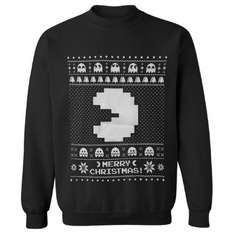 Namco Men's Merry Pac-Man Christmas Jumper £14.99 delivered @ Zavvi (+ 2 for £25 offer available)