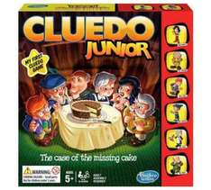 cluedo junior, £9.99 in Argos reduced from £16.99