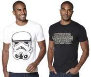Two adult  Star Wars t shirts sizes M & L