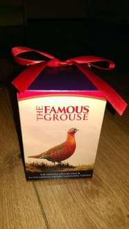 Famous Grouse 5cl Whisky and 3x Famous Grouse Toffees in Gift Box, £2.75 @ Tesco Nationwide.