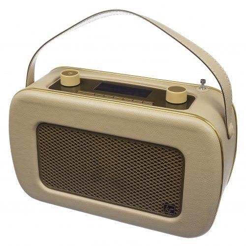 KitSound Jive DAB Radio - Cream/Gold from Vodafone store/Ebay