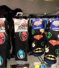 Marvel & DC Comics Adult Slipper Socks £1.49 @ Home Bargain (Instore)