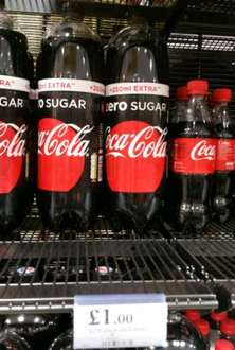 New Recipe 2 litre Coke Zero £1 @ Home Bargains (Instore)