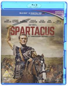 Happy Birthday on your 100th Birthday to the Legend Kirk Douglas @ ( He is ) Spartacus £8.99 @ Zoom