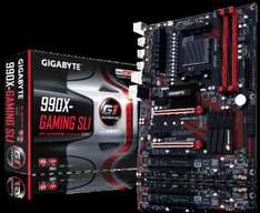 Gigabyte GA-990X-GAMING SLI Motherboard FREE HyperX Fury Series 8GB 1600MHz DDR3 CL10 and FREE delivery £82.97 @ Ebuyer