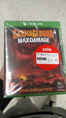 Carmageddon MaxDamage for Xbox One down to £15  Asda instore