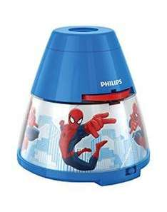 Philips Marvel Spider-Man / Disney Frozen Children's Night Light and Projector - Integrated LED was £19.99 now £8.99 (Prime) /  £12.98 (Non Prime) @ Amazon