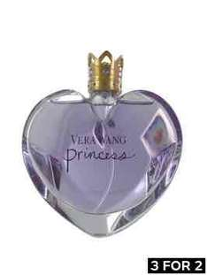 100ml Vera Wang Princess EDT, reduced from £60 to £29.99 and in the buy 3 for 2 offer at Very