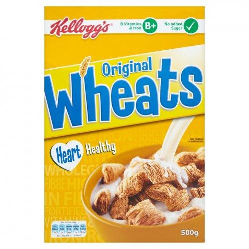 Kelloggs Original Wheats 500g 75p instore at Heron Foods.