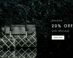 20% off sitewide until Monday excl. sale items @ Fiorelli