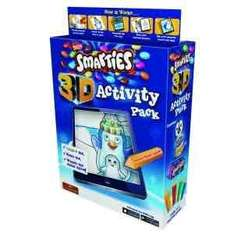 Smarties 3D Activity Pack (131.4g) was £3.00 now £2.00 @ Asda