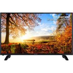"Techwood 50"" Freeview TV Smart 4K Ultra HD TV £279 WITH CODE @ AO"