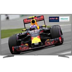 """Hisense H55M6600 55"""" Smart 4K Ultra HD with HDR Curved TV - Silver £469 @ AO"""