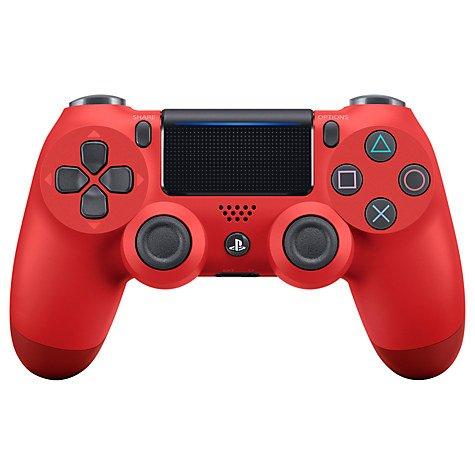 PS4 DualShock 4 Wireless Controller, Magma Red - £42.74 @ John Lewis - Free c&c