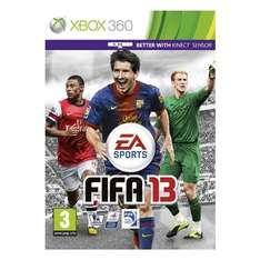 FIFA 13 Xbox 360 only 10p in cex interesting to see how much/little has changed @ CEX