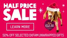 Oxfam sale .. but their partners donate to make up the price