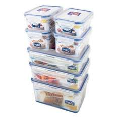 Lock & Lock 7 Piece Set (£40 min spend)  - £11.75 @ Ocado