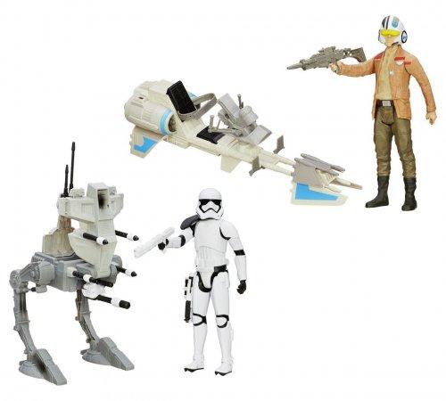 Star Wars: The Force Awakens 12 inch Walker/Speeder Asst reduced to £9.99 @ Argos
