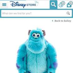 large cuddly sully down to £8 from £25 at the enterainer toy shop