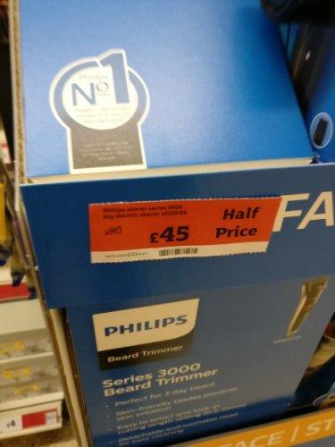 Philips Series 3000 (Dry) Beard Trimmer £45 @ Sainsbury's - Shrewsbury
