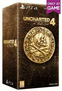 Uncharted 4 A Thief's End Libertalia Collector's Edition £59.99 @ Game