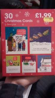 30 Funny Christmas Cards 99p at Card Factory