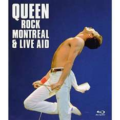 Rock Montreal & Live Aid [Blu-Ray] [2008] [2007] £8.85 @amazon (+ £1.99 non Prime delivery) - Sold by MediaMerchants and Fulfilled by Amazon
