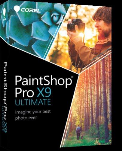 PaintShop Pro X9 Ultimate & bonus collection, full download version, 75% off - £19.99 @ Corel