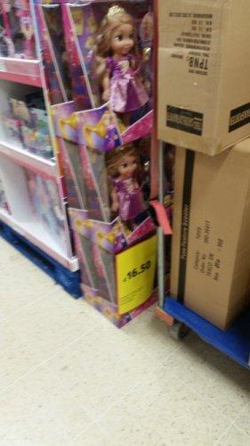 Repunzile light up doll £16.50 @ Tesco instore