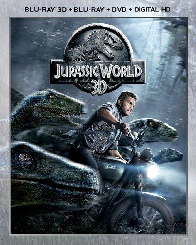 (New) Jurassic World 3D/2D Blu-Ray + DVD £5.09 @ Music Magpie