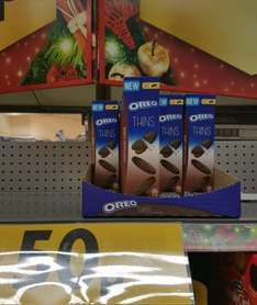 Oreo thins only 0.50p instore at Morrison (Saltney, Chester store)