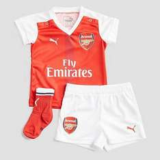 PUMA Arsenal FC 2016/17 Home Kit Infant (2-4 or 4-6 months) £20 @ Millet sports